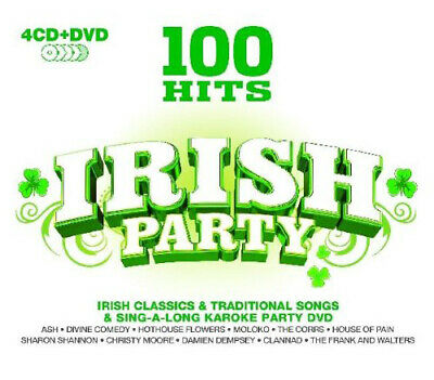 Various Artists : 100 Hits: Irish Party CD Box Set 5 Discs (2010) Amazing Value • 5.10£