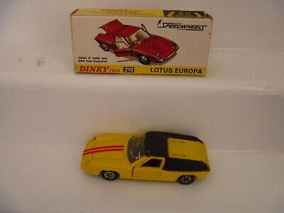 $ CDN76.77 • Buy Vintage Dinky Toys Boxed 218 Lotus Europa Black Roof