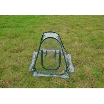 Small Pop Up Greenhouse Foldable Flowerpot Cover Flower Shelter 27x27x31  • 22.18£