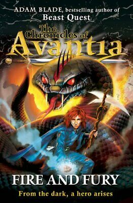 AU10.57 • Buy Fire And Fury (The Chronicles Of Avantia) By Adam Blade