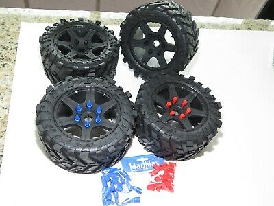AU280.85 • Buy Yy X-maxx 8s Truck Losi 5ive Tires Use Madmax Adapter For X-maxx