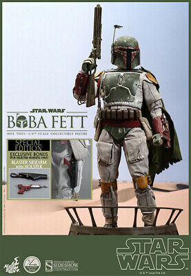 AU775 • Buy Hot Toys Boba Fett 1/4th Scale Action Figure QS003 Special Edition
