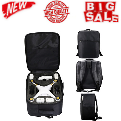 AU79.71 • Buy New Professional Carrying Shoulder Backpack Bag Phantom 3S 3A & 4A 4 Drone Case