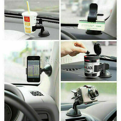 Universal 360° Car AUTO ACCESSORIES Rotating Phone Windshield Mount GPS Holder • 3.56£