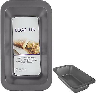 Large Rectangle Loaf Tin - Fresh Bread Bake, Cake Making Non Stick - Oven • 7.59£
