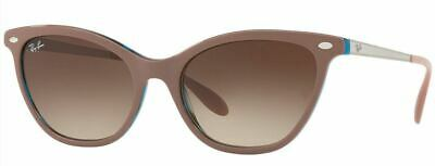 $67.99 • Buy Ray Ban Sunglasses RB4360 1235/13 Light Brown Frames Brown Lens 54mm
