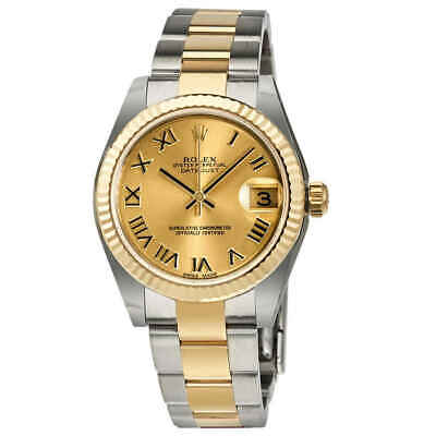$ CDN11702.08 • Buy Rolex Datejust Lady 31 Champagne Dial Stainless Steel And 18K Yellow Gold Oyster