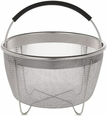 $ CDN23.47 • Buy  Aozita Steamer Basket For Instant Pot Accessories 3 Qt Only- Stainless Steel 3