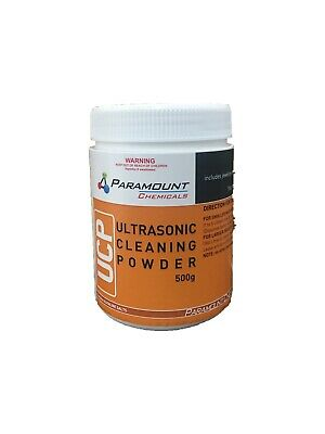 AU28 • Buy Jewelry Cleaner And Ultrasonic Cleaning Powder Genuine Australian Made 500gms.