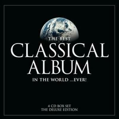 Various Composers : The Best Classical Album In The World... Ever! CD 4 Discs • 3.99£