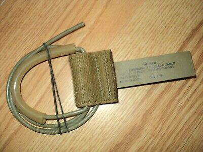 $59.95 • Buy Usmc Issue Plate Carrier Imtv/pc Emergency Release Cable 13-15 Pals