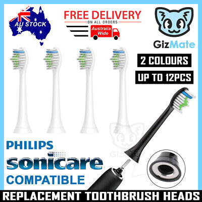AU11.90 • Buy Replacement Brush Heads For Philips Sonicare Toothbrush Diamond Clean HX6064 AU