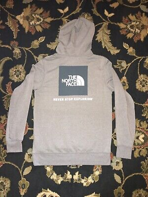 $27.99 • Buy The North Face Box Logo Men's Pullover Hoodie - Grey Size M