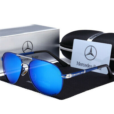 Mercedes AMG Men's UV400 Sunglasses Sports Racing Golf Outdoor Glasses New • 11.87£