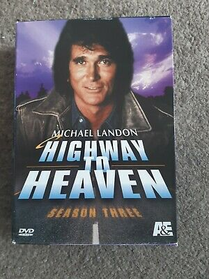 Highway To Heaven - Series 3 - Complete (DVD, 2013, 7-Disc Set) In Very Good Con • 17.99£
