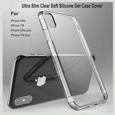 AU2.99 • Buy Ultra Slim Clear Soft Silicone Gel Case Cover For IPhone X XS XR XsMax