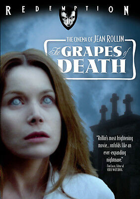 THE GRAPES OF DEATH - DVD - Cult Euro Horror Zombies - Uncut - Jean Rollin • 14.50£