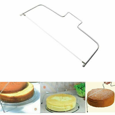 £3.26 • Buy Bread Cake Cutter Leveller Decorating Wire Slicer Cutting Baking Decor Tool