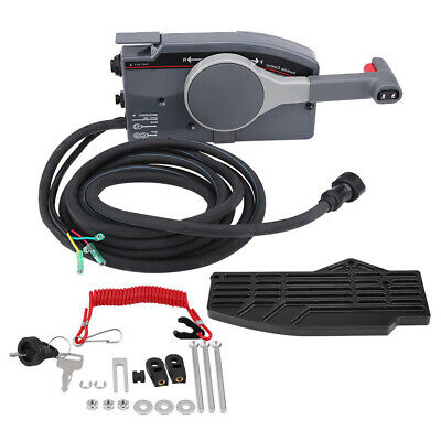 $227 • Buy Remote Control Box 10Pin Cable For Yamaha Outboard Steering System 7034820516 US