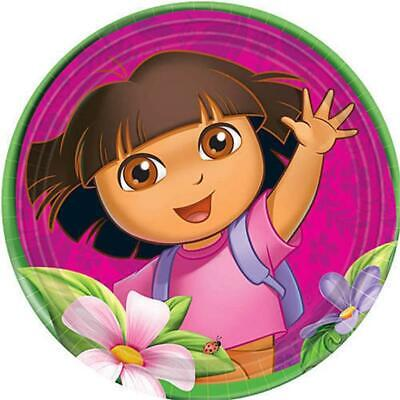 Dora's Flower Adventure Lunch Dinner Plates 8 Count Birthday Party Supplies NEW • 6.33£