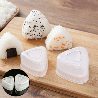 Onigiri Sushi Molds Rice Mold DIY Tools Musubi Triangle Triangle Rice Mould • 2.18£