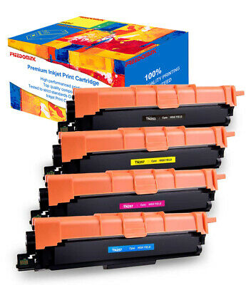 AU70.99 • Buy 4x TN253 TN257 Toner For Brother DCP-L3510CDW MFC-L3750CDW MFC-L3770CDW L3745CDW