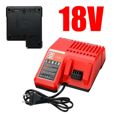 AU49 • Buy Li-ion Battery Charger For Milwaukee Replacement M18 18V 534140 Power AU!
