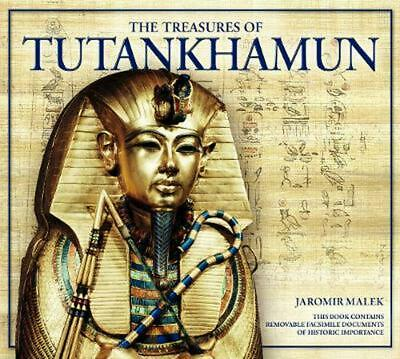 Treasures Of Tutankhamun By Jaromir Malek (English) Hardcover Book Free Shipping • 23.25£