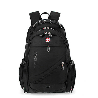2019 Swiss* Gear Men Travel Bags Macbook Laptop Hike Black Color Backpack 15.6 / • 22.99£