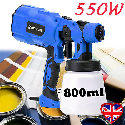 £35.28 • Buy 550W Electric Spray Gun Paint For Cars Home Wood Furniture Wall Sprayer 230V