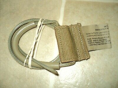 $59.95 • Buy Usmc Issue Plate Carrier Imtv/pc Emergency Release Cable 9-11 Pals
