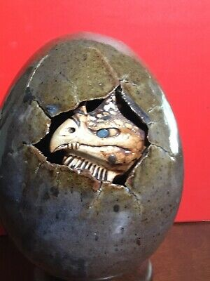 $95 • Buy Dennis Thompson Dragon Hatching From Egg- Perfect Condition