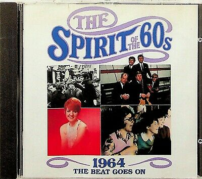 TIME LIFE- SPIRIT OF THE 60s BEAT GOES ON 1964 CD (Best Of 60's Pop/Zombies Etc) • 5.99£