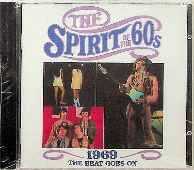 TIME LIFE SPIRIT OF THE 60s BEAT GOES ON 1969 CD *NEW SEALED RARE* Bee Gees Move • 24.99£