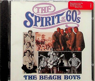 TIME LIFE SPIRIT OF THE 60s - BEACH BOYS CD *NEW/SEALED RARE* Best Greatest Hits • 29.99£