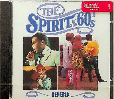 TIME LIFE- 1969 SPIRIT OF THE 60s CD *NEW SEALED RARE* Best Pop Rock/Humble Pie • 19.99£