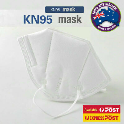 AU11.95 • Buy  Face Mask Protective Mouth N95 KN95 Masks Anti Bacterial Filter