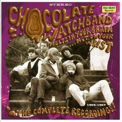 Melts In Your Brain...Complete Recording - Watch Band Chocolate Compact Disc Fre • 19.60£