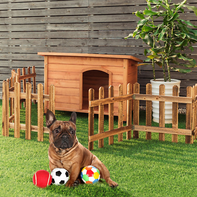 $217.37 • Buy Extra Large Outdoor Wood Weather Resistant Home Ground Dog House New Backyard