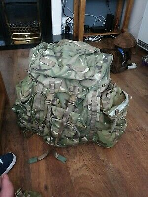 British Army Issue Mtp Shortback Bergen With Side Pouches Mint Condition. • 31£