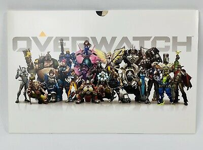 AU31.15 • Buy Rare GameStop Overwatch Coming Soon Marketing Promo Art Card Lithographs