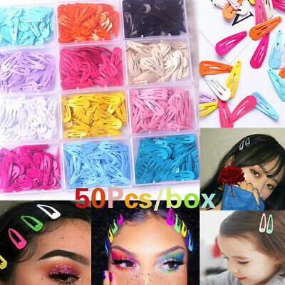 $ CDN5.79 • Buy 50pcs/Box Cute Candy Hair Clip Hairpin Barrette Kids Girls Hair Accessories