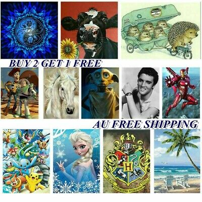 AU16.99 • Buy AU Stock 5D Diamond Painting Full Drill Kits Embroidery Crafts Arts Wall Decor
