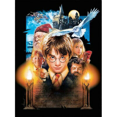 AU17.99 • Buy 5D Full Drill Diamond Painting Harry Potter Poster Embroidery Cross Stitch Kit