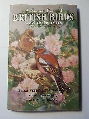 Ladybird Books A Second Book Of British Birds Series 536 With Dust Jacket DJ • 9.99£