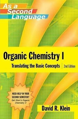 $5.53 • Buy Organic Chemistry I As A Second Language: Translating The Basic Concepts By Dav