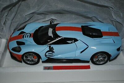 Maisto 1:18 Ford GT 40 Exclusive Range Gulf Colours 2017. • 55£