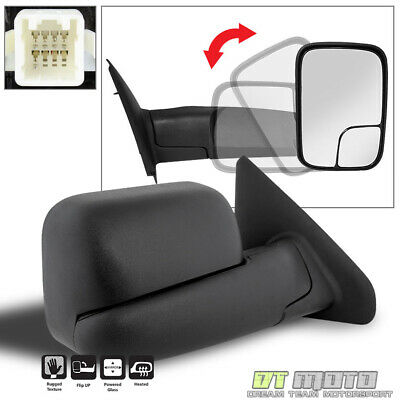 $56.89 • Buy 02-08 Ram 1500 03+ 2500 3500 Towing Extend Flip POWER+HEAT Mirror Passenger Side