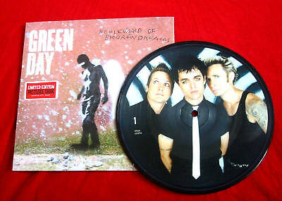 GREEN DAY-Boulevard Of Broken Dreams-UK 7  Picture Disc In Card Picture Sleeve • 25.99£