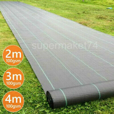 £14.89 • Buy Heavy Duty Waad Contral Fabric Membrane Garden Landscape Ground Cover Sheet Mat
